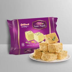 Soan Papdi from Haldiram to Ahmedabad