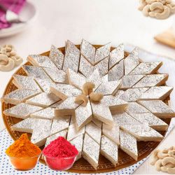 Mouth-watering Haldiram Kaju Katli to Baharampur