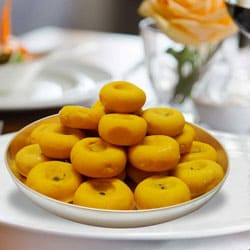 Kesar Peda from Haldiram�s to Badgam