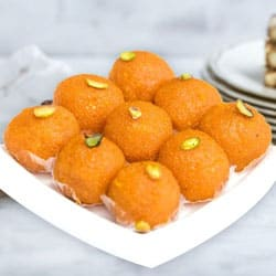 Motichur Ladoo  from Haldiram to Agra