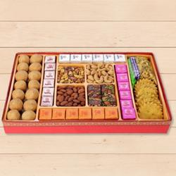 Haldirams Heightening Fondness Milk Cake Sweets Box to Baramula