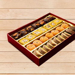 Delectable Assorted Premium Sweet Box for Mother to Alwar