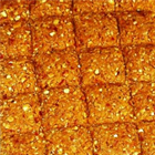 Gulab Keshar Dry Fruit Chikki. 