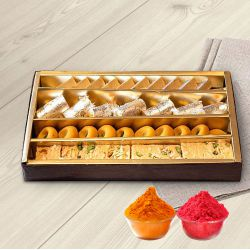Assorted Fresh Sweets Box to Udaipur