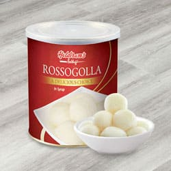 Haldiram Rosogolla to India