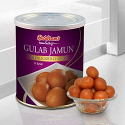 Gulab Jamun from Haldiram to Ahmedabad
