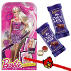 Spectacular Barbie Capelli Glam Doll with Kids Rakhi and Chocolate and Roli Tilak Chawal to Nakoda