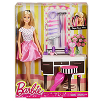 Exclusive Collection of Barbie Doll Hair N Make-Up Accessories Set for Baby Girl to Aligarh