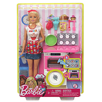 Gorgeous Barbie Doll Bakery Chef Playset for Little Angel to Belapur Road