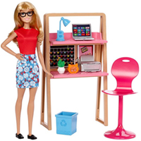 Beautiful Barbie Home N Office Play Set for Little Angel to Noida