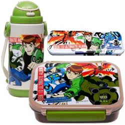 Go-to-School Set from Ben 10 to Bombay