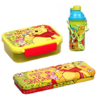 Winnie-the-Pooh Tiffin Box, Sipper Bottle and Pencil Box Hamper for KIds to Udaipur
