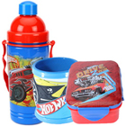 Charismatic Hot Wheels Sipper Bottle, Mug and Tiffin for Kids to Bardez