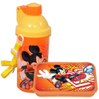 Remarkable Mickey Sipper Bottle and Tiffin Box for Kids to Chavara