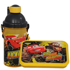 Fancy Disney Car Designed Sipper Bottle and Tiffin for Kids to Cochin
