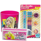 Eye Catching Barbie Pattern stationery Set for Lovely Kids to Ranchi