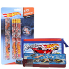 Splendid Kids Special Hot Wheels Designed Stationery Set to Bardez
