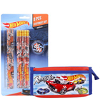Delightful School Time Hot Wheels Stationery Set to Bihar