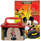 Attractive Disney Mickey Pattern Stationary Set for Lovely Kids to Bihar