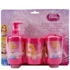 Glamorous Disney Princess Bathroom Set for Children to Miraz