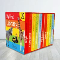 Lovely Books Boxset - My First Library for Kids to Adra