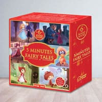 5 Minutes Fairy Tales Bookset for Kids to Amargol