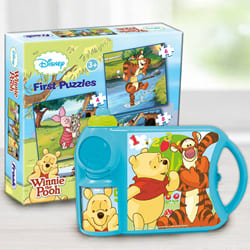 Wonderful Disney Winnie the Pooh Toy N Tiffin Combo to Adoni