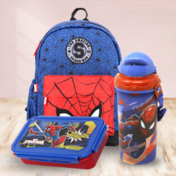 Exciting Marvel Avenger Spiderman Back to School Mini Combo to Adipur