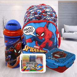 Exciting Spiderman School Utility Combo to Ahmedgarh