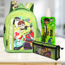 Exclusive Ben 10 School Utility Gift Hamper for Kids to Agra