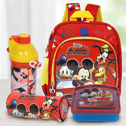Marvelous Mickey Mouse School Utility Gift Combo for Kids to Adipur
