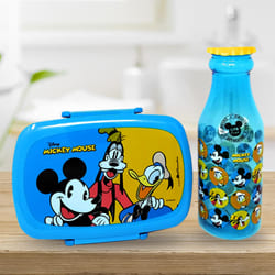 Exciting Disney Mickey Mouse n Water Bottle Set to Adoni