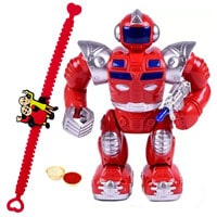 Battery Operated Walking  Robot with Rakhi and Roli Tilak Chawal to Cochin
