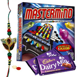 Mastermind � A game of Mind with Free Kids Rakhi with Chocolates to Nakoda