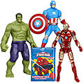 Remarkable Marvel Avengers Assemble Figurine Set with Spider Man Surprise Bag for Smart Kids to Yamunanagar