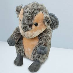 Delightful Squirrel Soft Toy to Ambalamugal