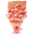 Wonderful Bouquet of Teddy  to Akola