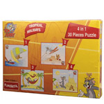 Frolicsome Funskool Tom and Jerry 4 in 1 Puzzle to Achalpur