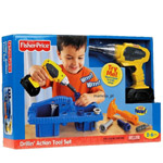 Striking Fisher-Price Drillin Action Tool Set to Belapur Road