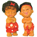 Cheerful Jungle Couple Dolls By Masoom Playmates to Ambala