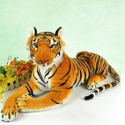 Striking Gift of Soft Tiger to Bantwal