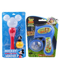 Exclusive Disney Gift Hamper of Flashing Light Sticks with Disc Shooters to Anakapalli