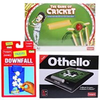 Fabulous Set of 3 Board Games from Funskool to Agroli