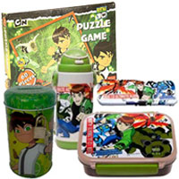 Attractive Ben 10 Gift Set for Infants to Baraut