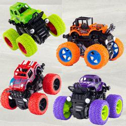 Marvelous Monster Truck Pull Back Car for Toddlers to Ambur