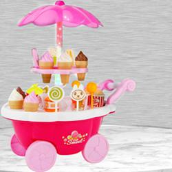 Exclusive Ice Cream Trolley Play Set to Adra