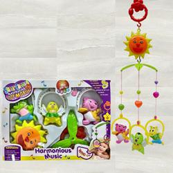 Marvelous Hanging Rattle Toys With Cartoons for Toddlers to Aligarh