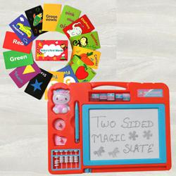 Exclusive Double Sided Flashcards N Magic Slate to Adra