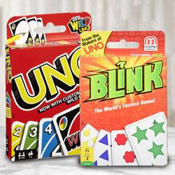 Remarkable Mattel Uno N Reinhards Staupes Blink Card Game to Aluva