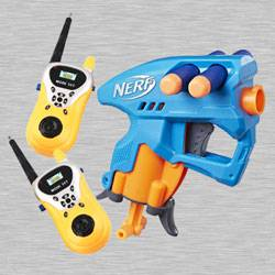 Marvelous Nerf Nano Fire Blaster with Walkie Talkie Toy to Akurdi